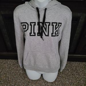 Pink Gray Hoodie